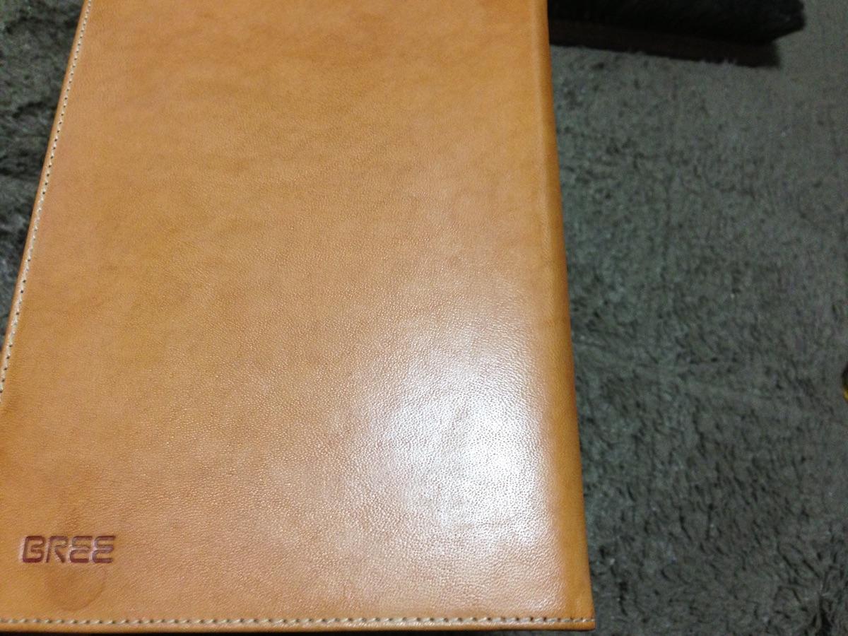 ヌメ革ブックカバー−2