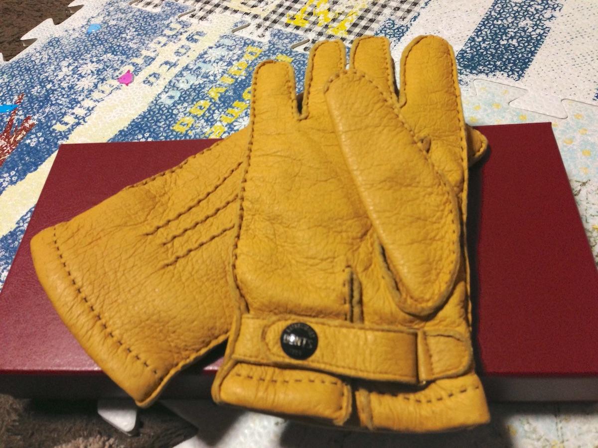 デンツの手袋(ペッカリー)−2