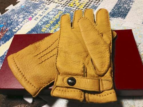 デンツの手袋(ペッカリー)