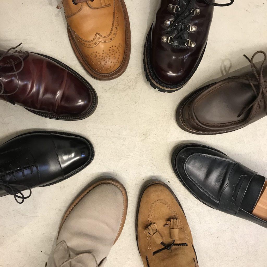 シューサークル 革靴