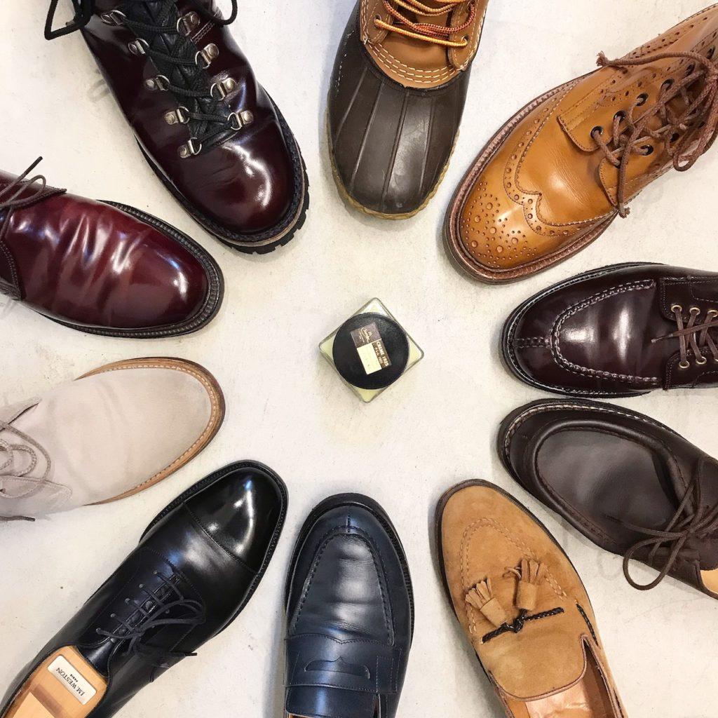 2019award 革靴