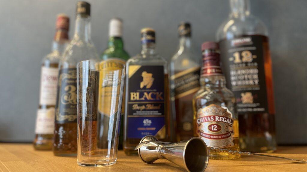 グラス ウイスキー